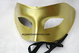 plain half mask 1pcs party supplies malaysia birthday party