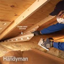 saving energy blown in insulation in the attic u2014 the family handyman