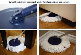 Floor Mops At Walmart by Twist And Shout Mop Award Winning Hand Push Spin Mop From The