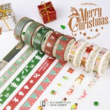 2018 christmas craft ideas pvc quick easy washi tape for christmas
