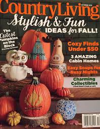 vintage halloween collector october 2015 country living magazine