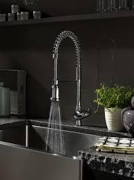 interior great kitchen design with undermount kitchen sink and