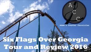 Six Flags Georgia Flash Pass Six Flags Over Georgia Tour And Review 2016 Youtube