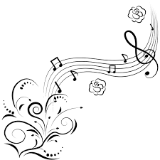 music notes flowers wall art decals stickers transfers with sound music notes flowers wall art decals stickers transfers with sound of coloring pages