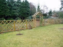 fences 1st class garden constructions