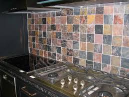 Quartzite Slate Subway Backsplash Tile by Copper Slate Tile Backsplash Slate Tile Kitchen Backsplash