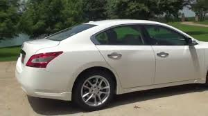 nissan maxima youtube video hd video 2011 nissan maxima sv white for sale see www sunsetmotors