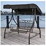 amazon com canopy porch swings patio seating patio lawn
