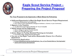 eagle project proposal template getting approval for your eagle