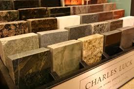 decorating chic corian vs granite countertop samples