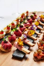m fr canapes 124 best wedding canapé ideas images on catering