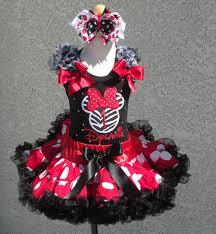 girls birthday minnie mouse zebra red black white quick ship