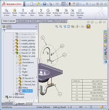 solidworks tech tip balloon a sub assembly and its parts