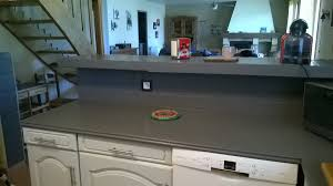 peindre plan de travail carrelé cuisine peindre le carrelage cuisine mur et plan de travail renover ma