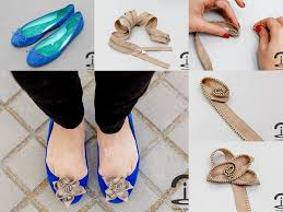 How To Decorate Shoes Zipper Flower Embellishments Diy Alldaychic