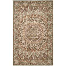 Brown And Grey Area Rugs Safavieh Heritage Blue Grey 5 Ft X 8 Ft Area Rug Hg914b 5 The