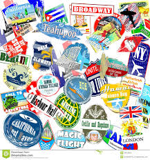 California Travel Stickers images Travel stickers stock photo image of site hotel trip 34012956 jpg