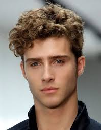hairstyle for curly hair for men medium hairstyles wavy medium