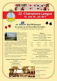 Tierarzt Bad Wildungen 22 Champions League 2017