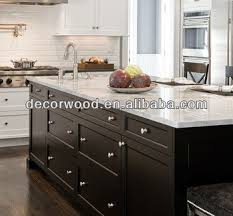 Black Shaker Kitchen Cabinets Contemporary Frameless Black Shaker Door Kitchen Cabinet Buy