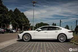 porsche panamera silver 2018 porsche 971 panamera turbo 10 july 2016 autogespot