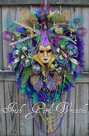 jester mardi gras girl s wreaths where the difference is in the details