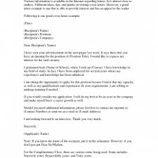 sample cover letter format how to write for job sample application