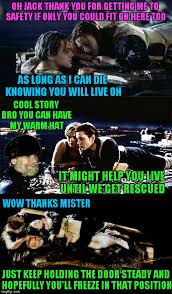 Titanic Door Meme - titanic imgflip