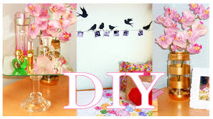 Easy Do It Yourself Home Decor by Diy Room Decor Cheap U0026 Cute Projects Low Cost Ideas Youtube