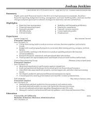 financial analyst resume resume financial analyst resumes resume exle vintage offices and