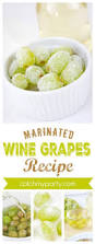 easy frozen wine marinated grapes recipe the perfect cocktail
