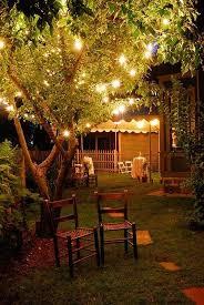 Backyard Lighting Ideas Romantic Backyard Lighting Ideas