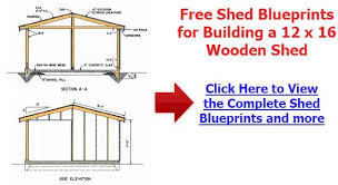 Plans To Build A Wood Shed by Backyard Shed Plans Proper Steps For Building A Perfect Shed