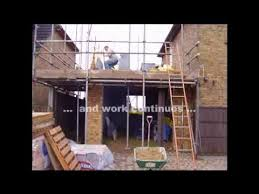 how to build a two story house how to build a two storey side extension in less than thirteen