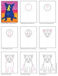 rodrigue blue dog blue dog tutorials and dog