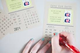 make your own instagram save the dates