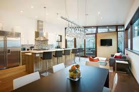 cuisine avec bar pour manger cuisine ouverte sur salon une solution pour tous les espaces
