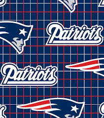 New England Patriots Shower Curtain New England Patriots Nfl Flannel Fabric Joann
