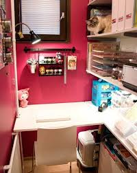 Closet Craft Room - jazzydoodle designs small craft room style incredible stylish size