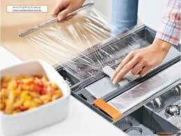 blum cuisine cupboardware blum cling wrap dispenser