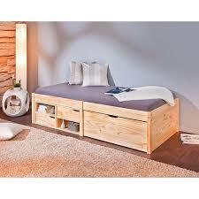 letto a legno massello letto bambini in legno massello con vani contenitori rete letto