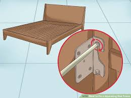 Squeaky Floor Repair How To Fix A Squeaking Bed Frame Wikihow