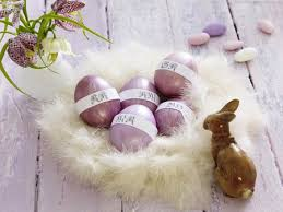 Easter Egg Nest Decorations by Easter Decorations Table Centerpieces Made As Nests Founterior