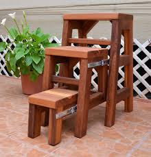 furniture folding step stool with handle folding step stool