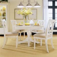 american drew camden white round dining table set american drew camden light round dining table with splat back