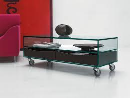 Modern Italian Leather Furniture Nella Vetrina Tonelli Como Basso Modern Italian Rectangular Table