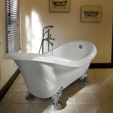 modelli di vasche da bagno vasca da bagno classica completa di piedini e scarico troppo pieno
