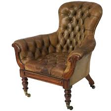cool tufted leather wingback chair with sinlgle vintage tufted