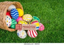 easter eggs sale easter eggs sale coupon voucher stock photos easter eggs sale