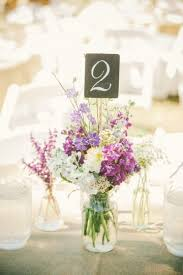 jar flower centerpieces jar centerpieces bravobride